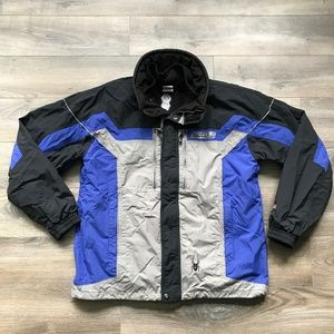 SPYDER Entrant GII Gray Blue Black Ski Coat 5000mm